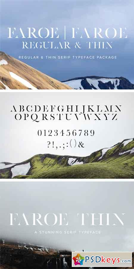 Faroe Package (Regular & Thin) 787038