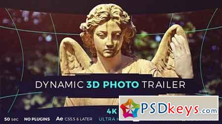 Dynamic 3D Photo Trailer 17798000 - After Effects Projects