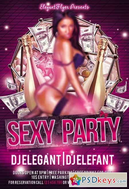Sexy Party Flyer Psd Template Facebook Cover