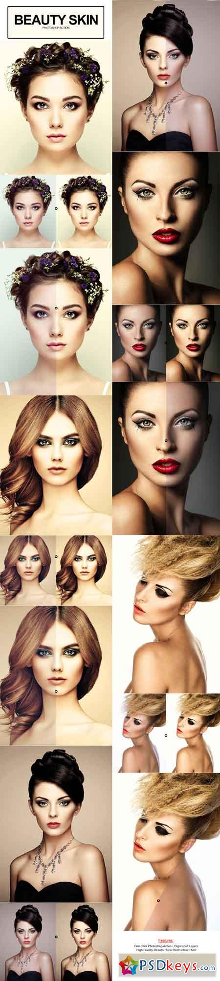 Beauty Skin Photoshop Action 17804783