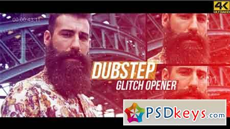 Dubstep Glitch Opener - 4K 17882747 - After Effects Projects
