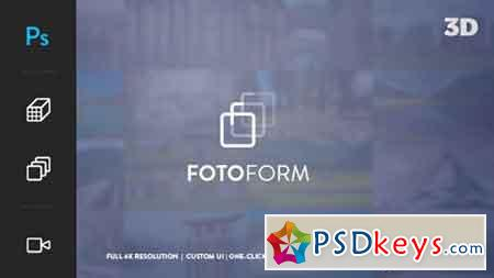 FotoForm - Procedural 4K 3D Photo Animator 17850213 - After Effects Projects