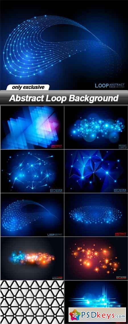 Abstract Loop Background - 10 EPS