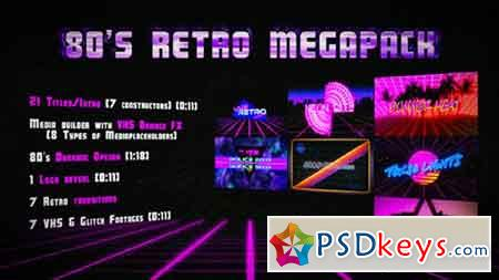 80's Retro Megapack 17025429 - After Effects Projects