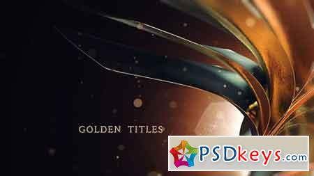 Golden Titles 17915387 - After Effects Projects