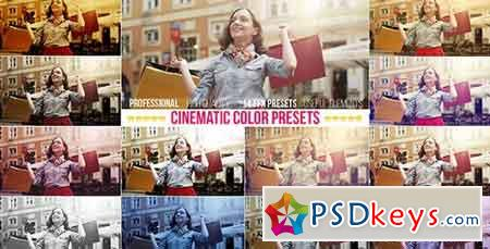 Cinematic Color Presets 15258791 - After Effects Projects