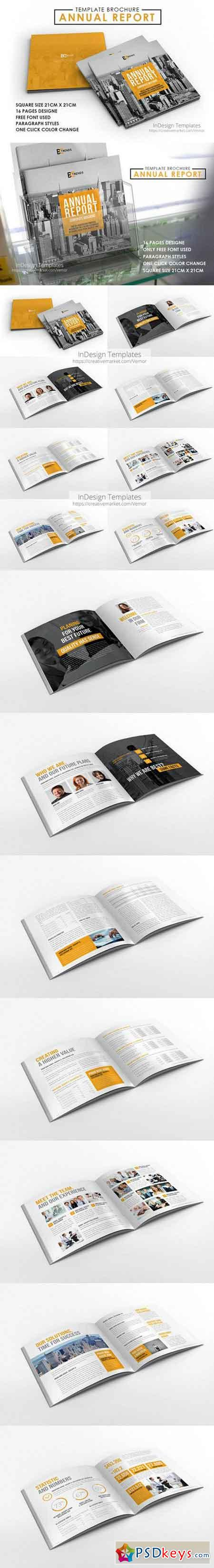 2017 Annual Report Brochure 889019 » Free Download Photoshop Vector ...