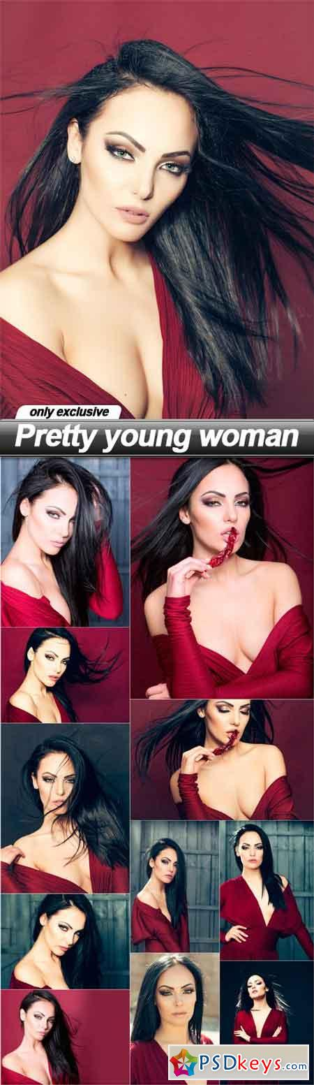 Pretty young woman - 12 UHQ JPEG
