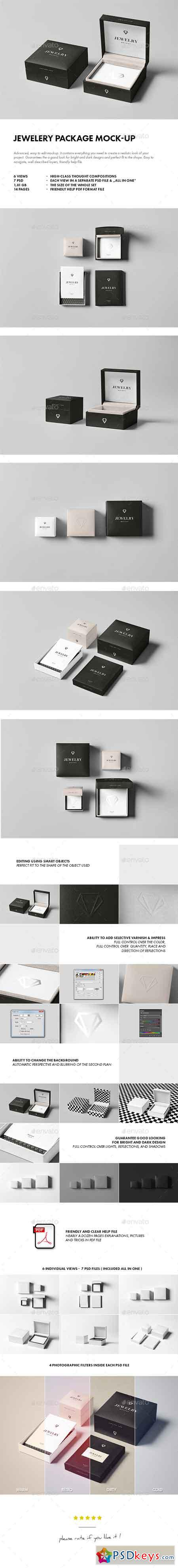Jewelery Package Mock-up 14517078