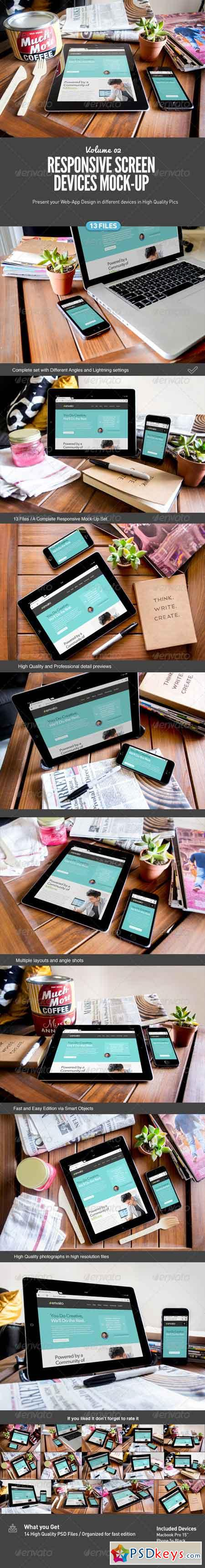 Responsive Screens Device Mock-Up 7869497