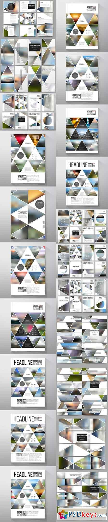 Bundle of 42 blurred templates 693071
