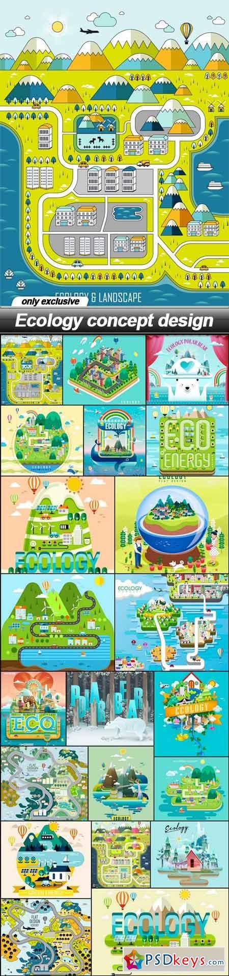 Ecology concept design - 21 EPS
