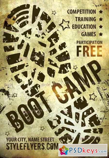 Boot Camp Flyer Template Free Carnavaljmsmusicco - Boot camp flyer template