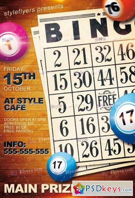 Bingo Free Download Photoshop Vector Stock Image Via Torrent