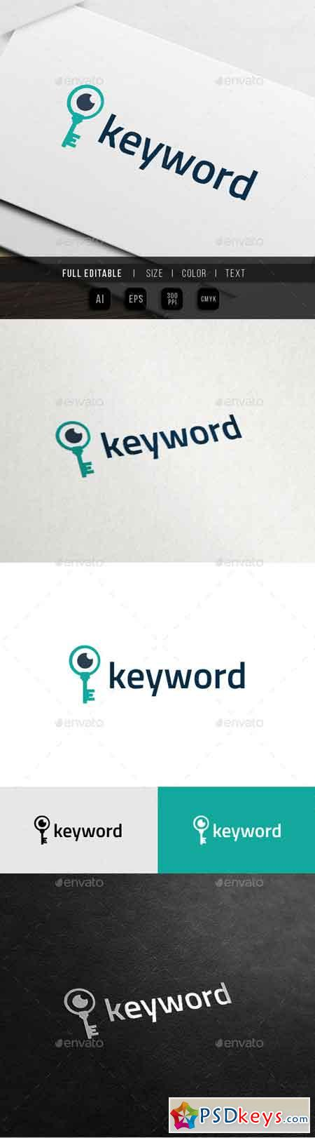 Search Keyword - SEO Expert - Key Eye Logo 10988027