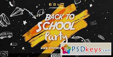 Back 2 School Event 17418820 - After Effects Projects » Free