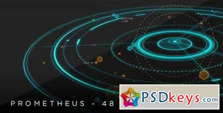 Prometheus - 48 HUD 2D & 3D titles 18103020 - After Effects Projects