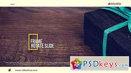 Frame Rotate Slide 17937990 - After Effects Projects