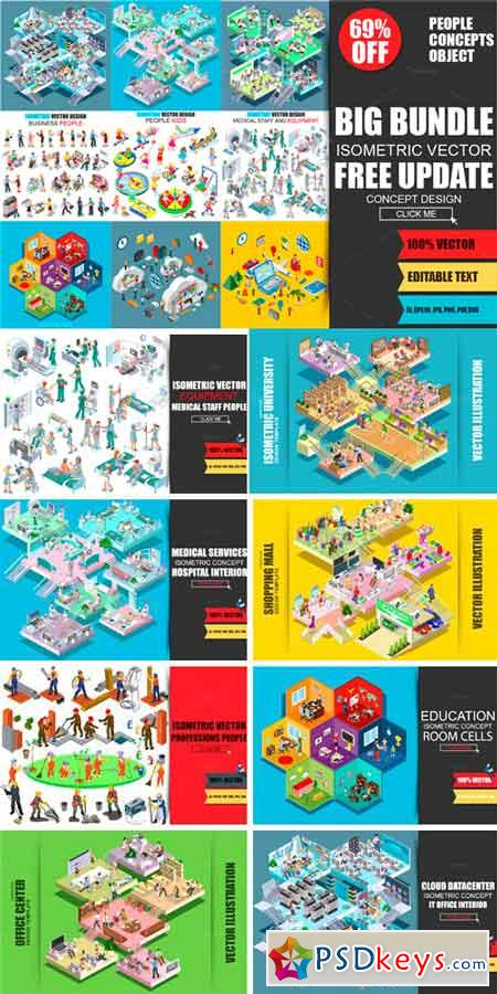 Isometric Mega Bundle 970303