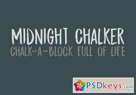 Midnight Chalker Font