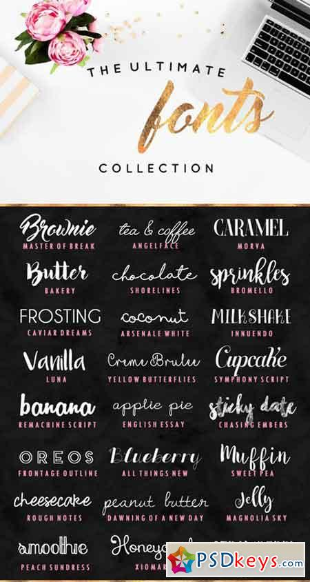 The Ultimate Fonts Collection