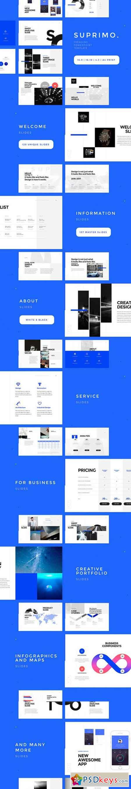 SUPRIMO PowerPoint Template 966223