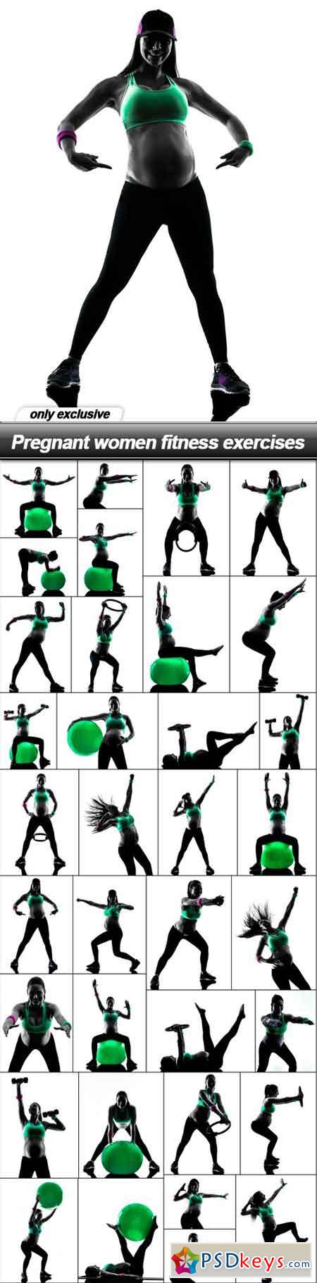 Pregnant women fitness exercises - 35 UHQ JPEG
