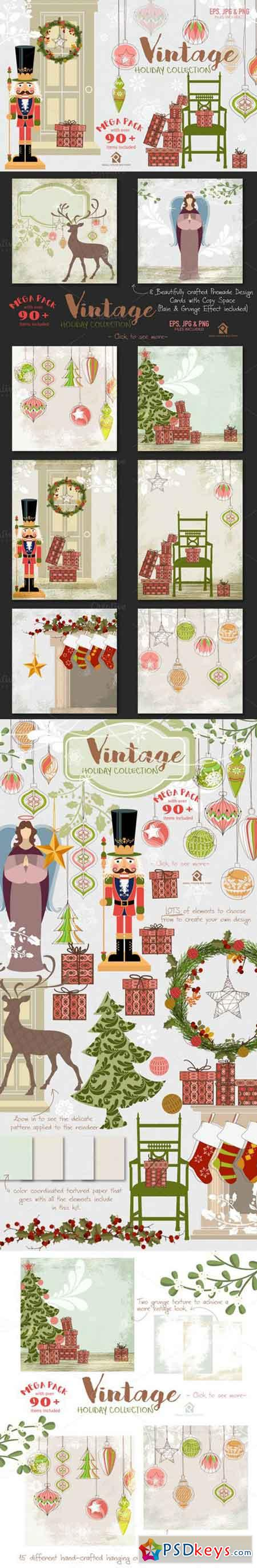 Vintage Holiday Collection 961421