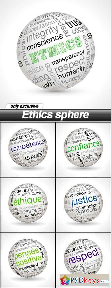 Ethics sphere - 7 EPS