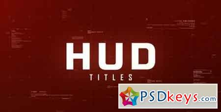 Hud Titles 17121099 - After Effects Projects