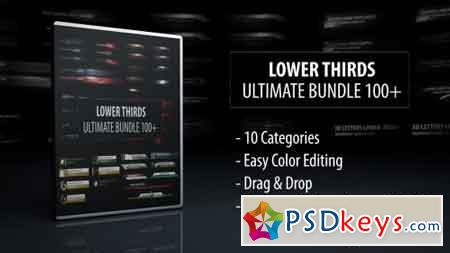 Lower Thirds - Ultimate Bundle 100+ 14746750 - After Effects Projects