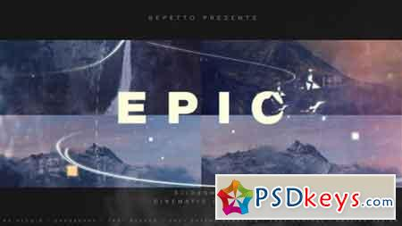 Epic Slideshow I Cinematic Opener 18443863 - After Effects Projects