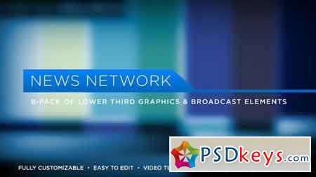 News Network Lower Thirds 5171471 - After Effects Projects
