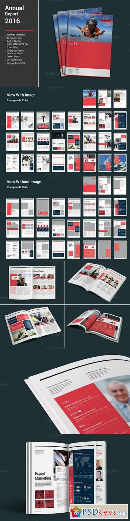 Annual Report Templates 385624