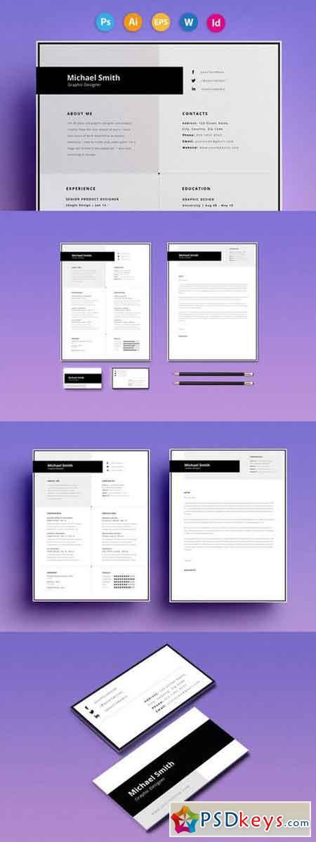 Resume CV - Smith 563731