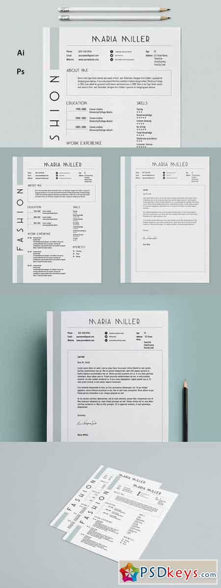 Resume CV - Suave 406909