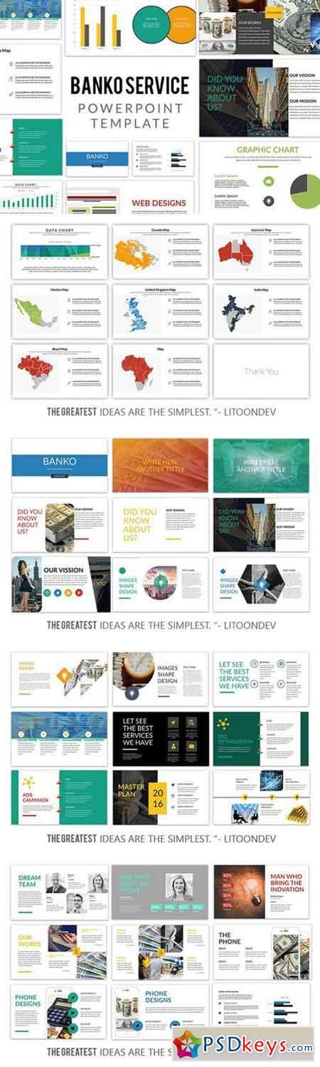 Banko powerpoint template 949698 free download photoshop for Powerpoint templates torrents