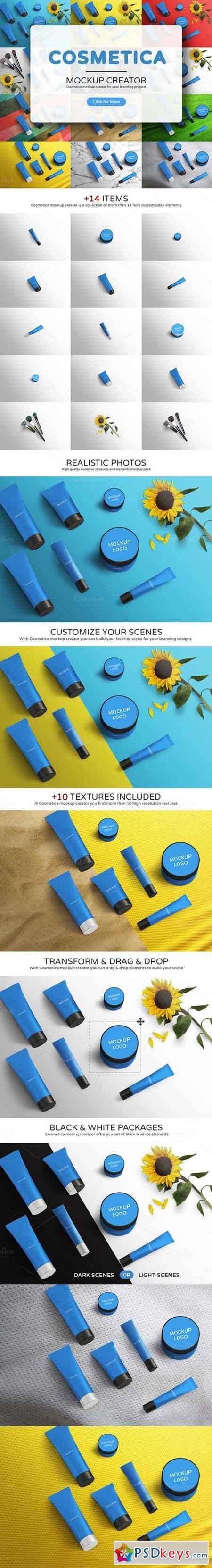 Cosmetica Mockup Creator 981709