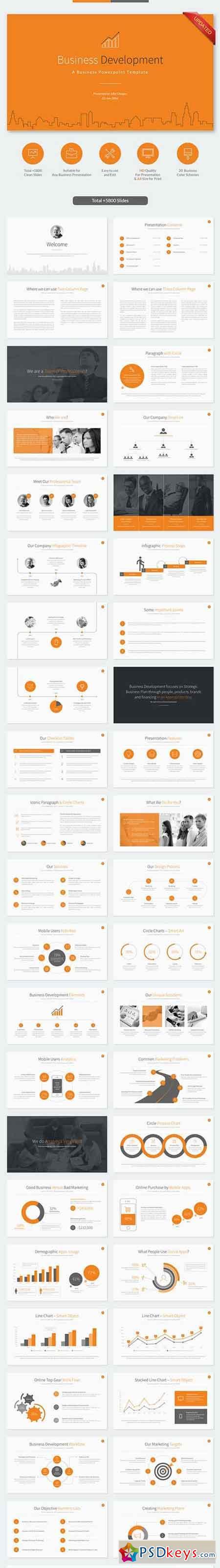 Business Development Powerpoint Template 10420710