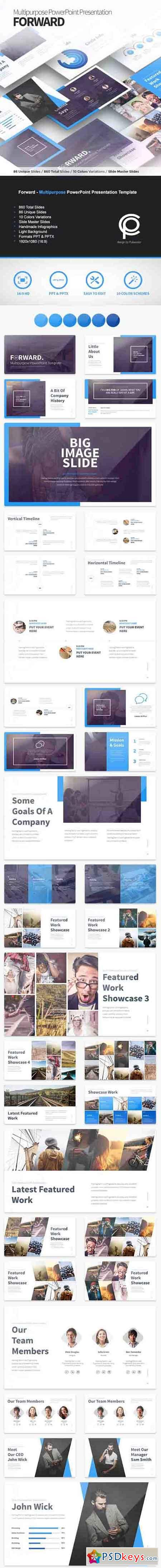 Forward - Multipurpose PowerPoint Presentation Template 16705754