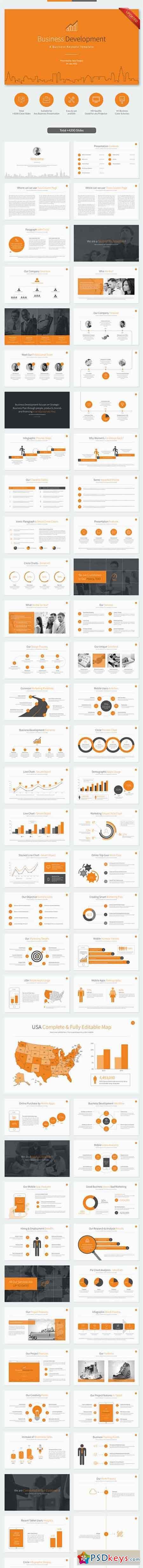 Business Development Keynote Template 11206333