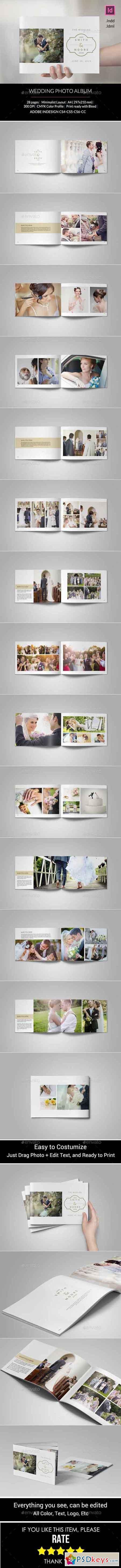 Simple Wedding Photo Album 11070772