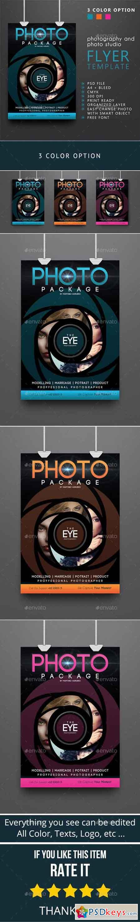 Photography Flyer Template 9345990 Free Download Photoshop Vector