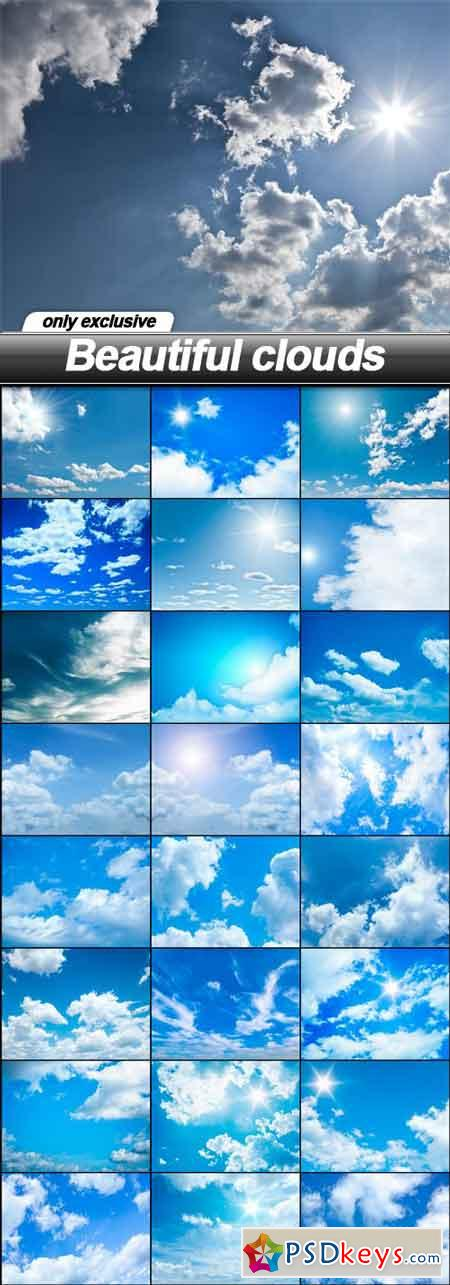 Beautiful clouds - 25 UHQ JPEG