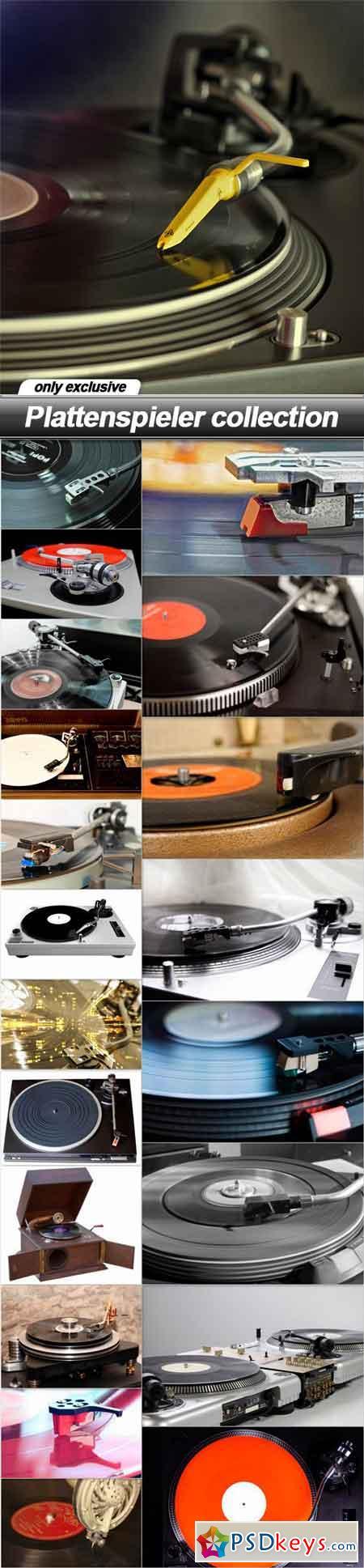 Plattenspieler collection - 21 UHQ JPEG