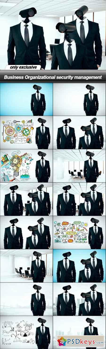 Business Organizational security management - 16 UHQ JPEG