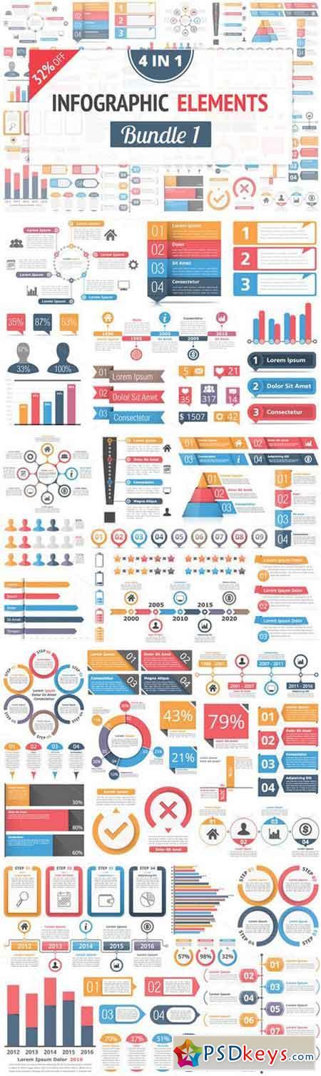 Infographic Elements Bundle 1 963566