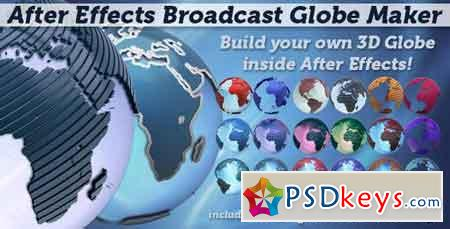 Broadcast Globe Maker 1856391 - After Effects Projects