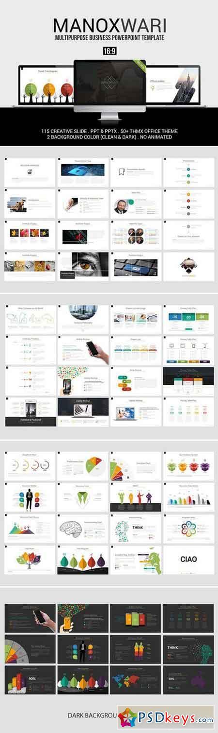 Manoxwari Business Powerpoint 960678