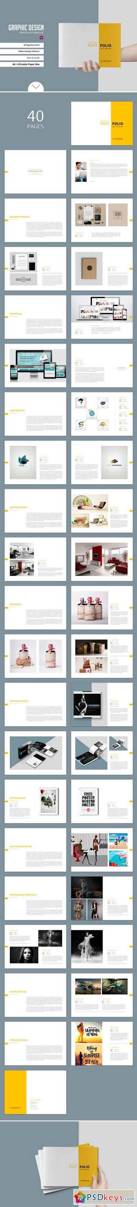 Graphic Design Portfolio Template 937841